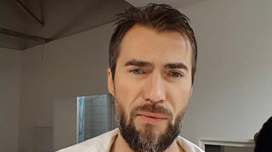 Bořek Slezáček a jeho nový účes
