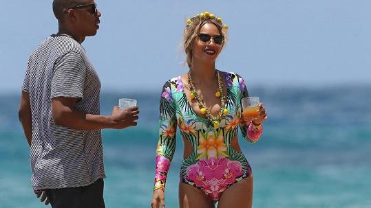 Beyoncé a Jay-Z na Havaji