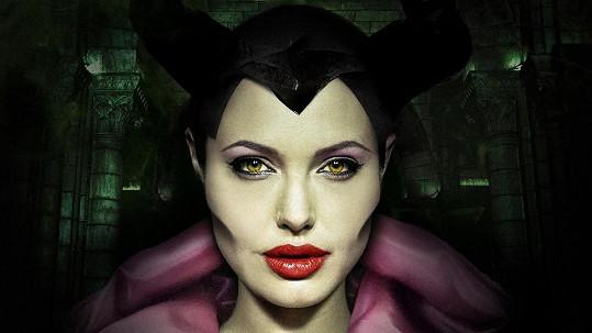 Angelina Jolie jako zlá čarodejnice