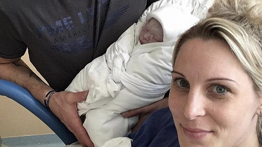 Katka Brzobohatá porodila syna.