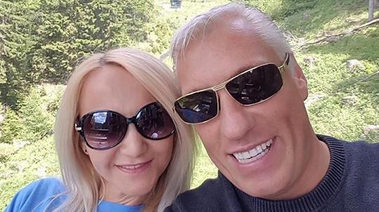 Šárka Grossová s novým partnerem Jiřím