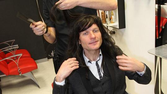 Takhle vypadal Dalibor Gondík, když měl dlouhé vlasy