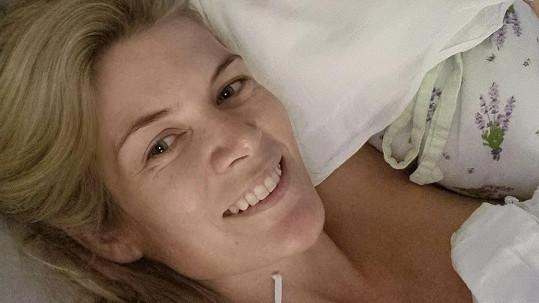 Iveta Vítová porodila syna.