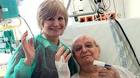 Jiří Suchý skončil v nemocnici