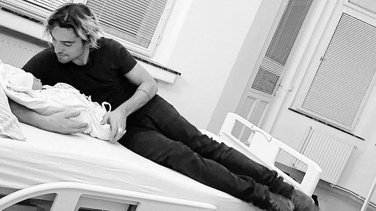 Jordan Haj se raduje z druhého dítěte.
