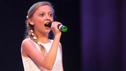 Nela Duchačová skončila v soutěži Sanremo Junior druhá.