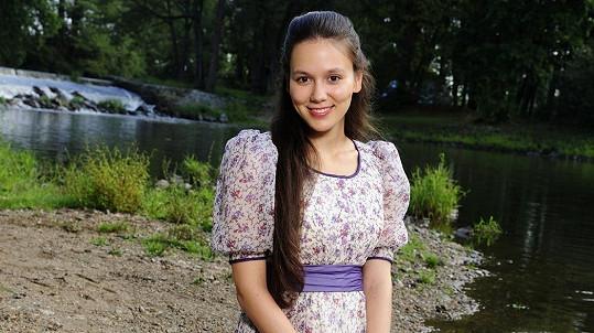 Eliška Jansová bude v roli princezny Verunky hvězdou Vánoc!