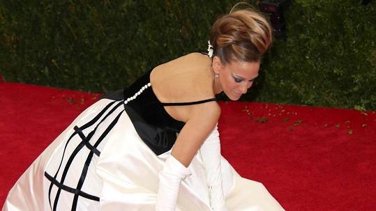 Sarah Jessica Parker na charitativním večírku Costume Institute Gala v New Yorku