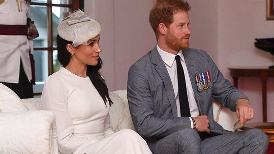 Harry a Meghan se přesunuli na Fidži.
