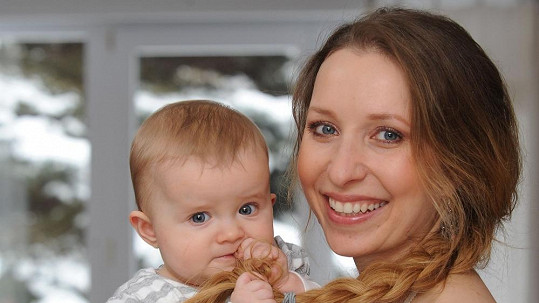 Tereza s dcerou Klaudií