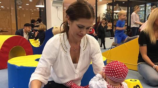 Jana Doležalová s dcerkou Veronikou