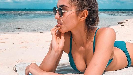 Michaela Habáňová poslala žhavý pozdrav z Malediv.