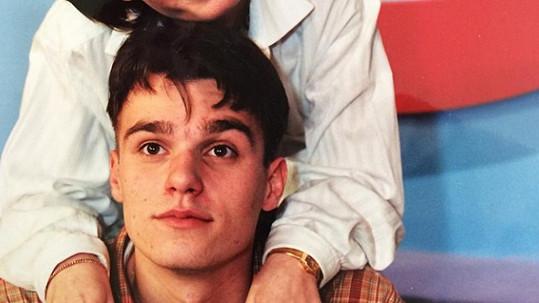 Poznali byste ho? Takhle Leoš Mareš vypadal před sedmnácti lety.