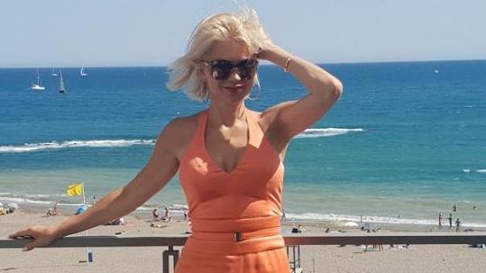 Natali Ruden navštívila během léta Řecko i Španělsko.