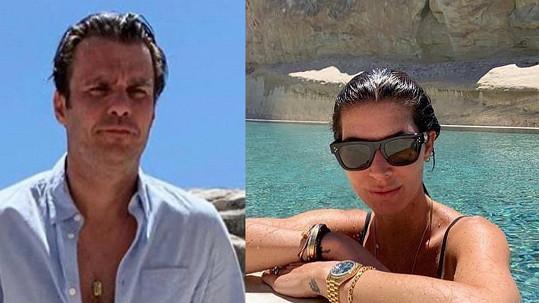 Leoš Mareš s manželkou Monikou vyrazili na dovolenou do Utahu.