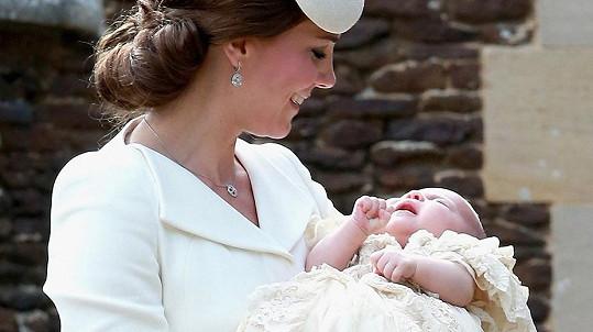 Kate je hrdou dvojnásobnou maminkou.