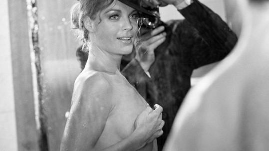 Takhle se kouzelná Romy nechala zachytit v šedesátých letech.