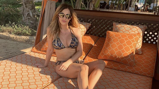 Petra Křivková Svoboda vyrazila na dovolenou do Dubaje.
