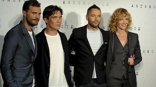 Aňa Geislerová patřila k ozdobám londýnské premiéry filmu Anthropoid.