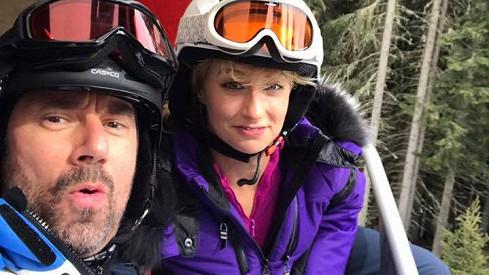 Emanuele Ridi a Lucie Hunčárová si užívají v Itálii.