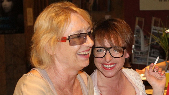 Tatiana Vilhelmová s maminkou Karlou