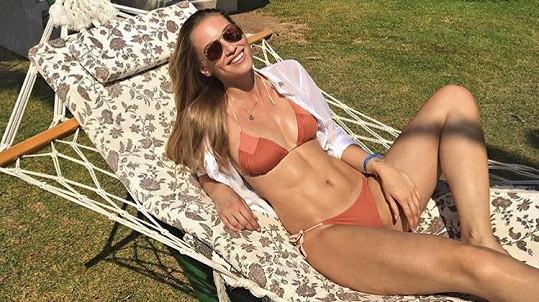 Karolína Mališová si užívá sluníčka v Turecku.