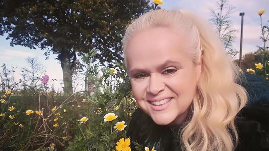Monika Binias je v manželství i v životě spokojená