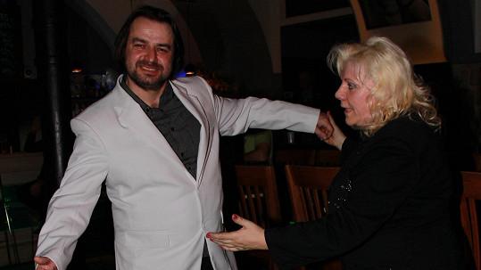 Zdeněk Macura s Marií Pojkarovou