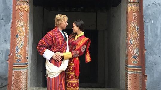 Karel Janeček se s Liliou spojil před dvěma lety v Bhútánu.