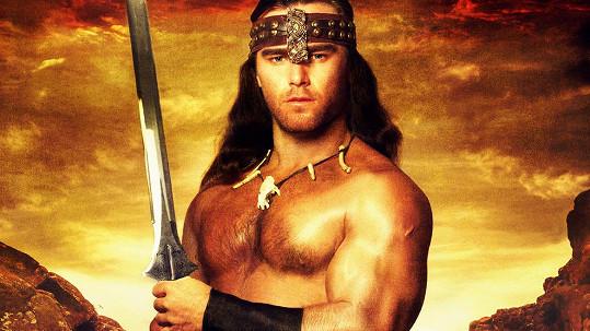 Vavřinec Hradilek jako Barbar Conan