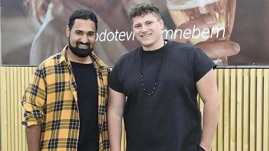 Pavel Berky s přítelem