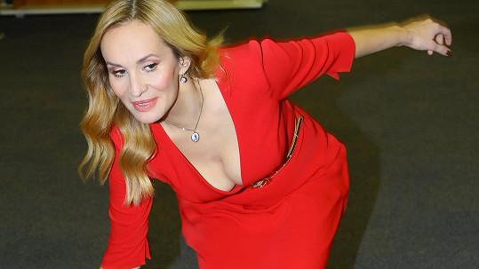 Monika Absolonová předvedla své smyslné ženství.