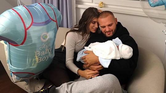 Jasmina Alagič a Rytmus se letos také dočkají dítěte.