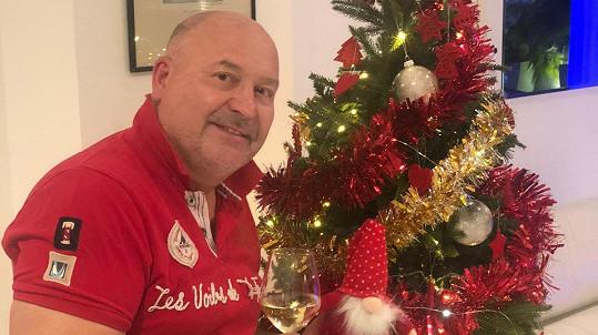 Michal David už se těší na Vánoce.