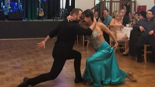 Marek Dědík a Olga Šípková