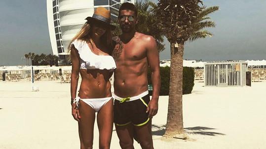 Tereza Barošová se na dovolené v Dubaji pochlubila postavičkou v bikinách.