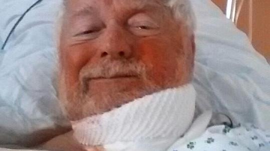 Josef Klíma je v nemocnici.