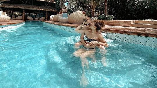 Andrea s Kazmou si užívají na Zanzibaru