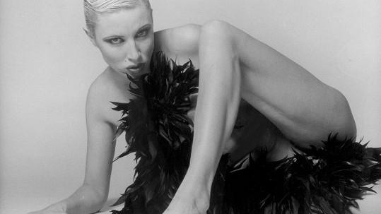Renata Drössler na skoro dvacet let starých fotkách.