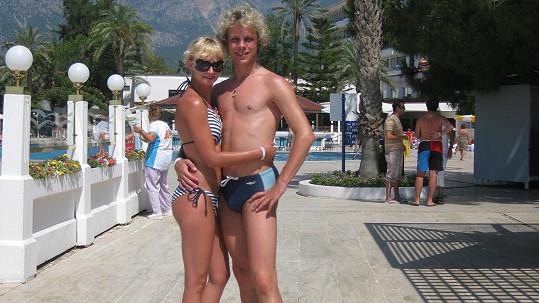 Jan Onder a Lucie Hunčárová se po osmi letech rozešli.