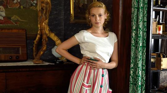 Fialová se stává novou českou filmovou hvězdičkou.