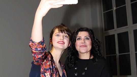 Patricie a Ilona Csáková si padly do oka a začaly spolupracovat.