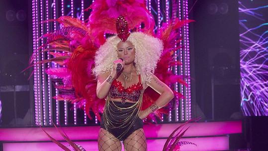 Erika Stárková jako Nicki Minaj