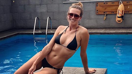 Eva Čerešňáková má stále skvělou figuru.