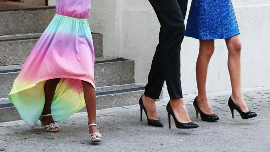 Vysoké podpatky jsou v rodině Heidi Klum nutností?