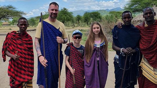 Vysněná dovolená Petra Vágnera byla v Africe.