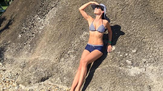 Jana Doleželová si užívá dovolenou v Rakousku.