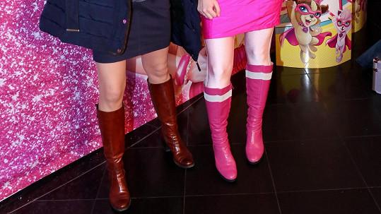 Které nohy patří Markétě Hrubešové?