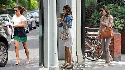 Pippa Middleton nemění boty.