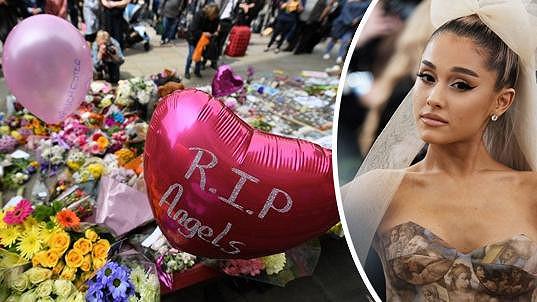 Loňský koncert Ariany Grande v Manchesteru se stal terčem sebevražedného bombového útoku.